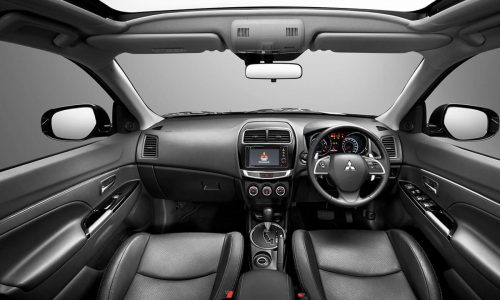 ASX Interior High Class Design with Leather covered | Mitsubishi Motors Malaysia