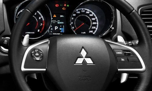 Mitsubishi ASX Steering Wheels With Multifunction Button | Mitsubishi Motors Malaysia