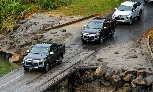 triton 4x4 Off road Drive | Mitsubishi Motors Malaysia